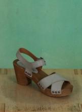 Schuhe, Bea, roma-hellgrau