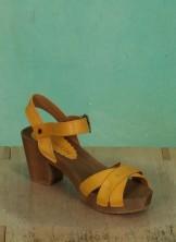 Schuhe, Lena, roma-gelb