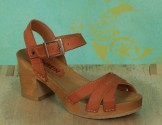 Schuhe, Lena, rustik-camel