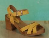 Schuhe, 1207-195, nubuck-gelb