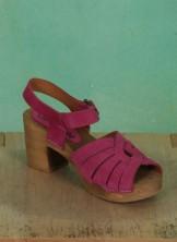 Schuhe, Anja, suede-pink