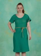Kleid, Polka, green