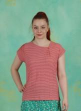 T-Shirt, Ligne, orange-lila