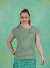T-Shirt, Ligne, green-roze