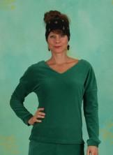 Shirt, Ballet Swan Rib, green