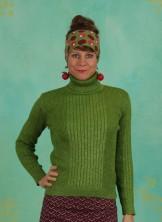 Pullover, Let`s Roll Knit Jumper, green