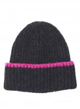 Mütze, 2007511003-040, dark-grey