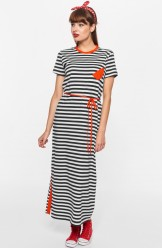 Kleid, 211-11-108-307, navy-stripes