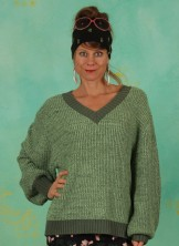 Pullover, 21W7235, green