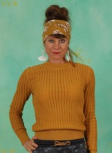 Pullover, 21W7242, yellow