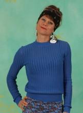 Pullover, 21W7300, blue
