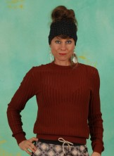 Pullover, 21W7335, brown