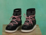 Schuhe, Peggy Snowboot, black-grey