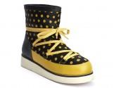 Schuhe, Peggy Snowfun, black-curry