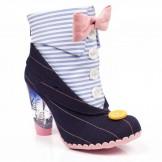 Schuhe, Instant Charm, blue