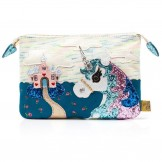 Schuhe, King of the Castle Pouch, pink-multi