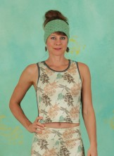 Top, Cropped Top, firefly-print