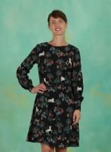 Kleid, Magic Forest Fit & Flare Dress, black-multi