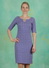 Kleid, Carice, mazarine-blue
