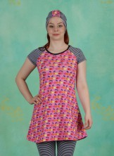 Kleid, Kleidchen Kirsch, cherry-pink