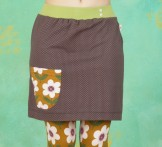 Jerseyrock, Des Sommers Blumenmädel, dots