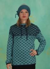Pullover, Kragenpullover Mira, turquoise