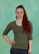 Shirt, Zaza-3-2, kaki