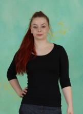 Shirt, Zaza-3-2, noir