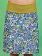 Stretchrock, Sfakia, grün/blau/lila