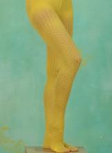 Strumpfhose, Sunny Snowdrops, yellow/white
