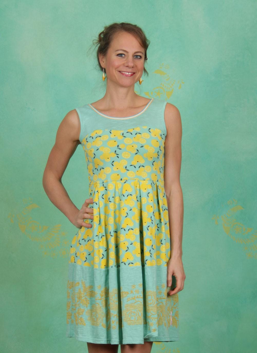 Blutsgeschwister - Frühling - Kleid, Mich Nie Vergess\' Dress, lemon ...