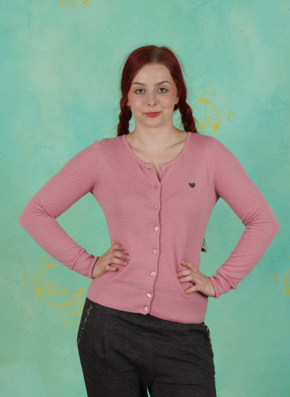 Blutsgeschwister Herbst Zipper, Save The Brave Cardy