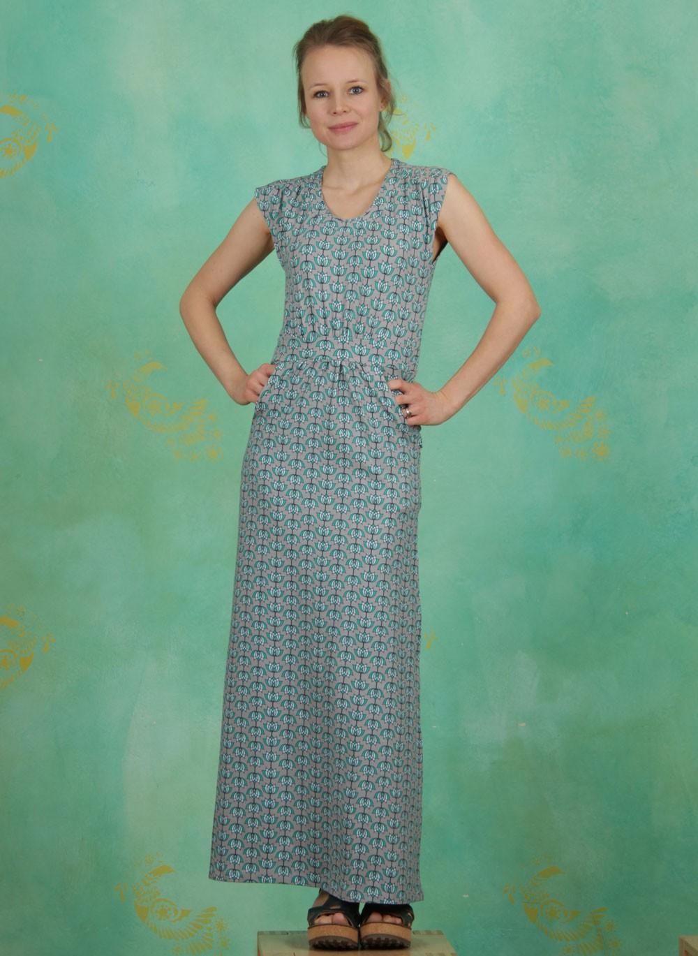 Tranquillo - Frühling - Kleid, Denise, grey - ey Linda Online Shop c7771803b3