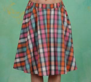 Rock, Big Girls Don´T Cry Skirt, cha-cha-check