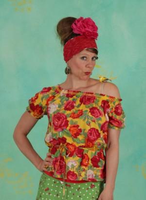 Bluse, Pennys Blouse, roses-of-joy