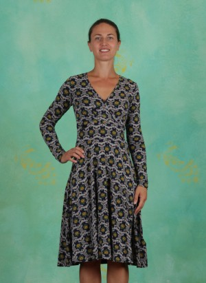Kleid, Piff Boum Bang Robe, iceflower-ornament