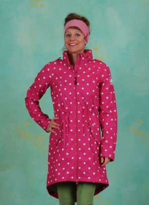 Mantel, Swallowtail Promenade Coat, pink-point