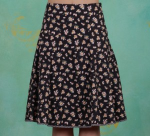 Rock, Hip Am Schnuerchen Skirt, flower-your-block