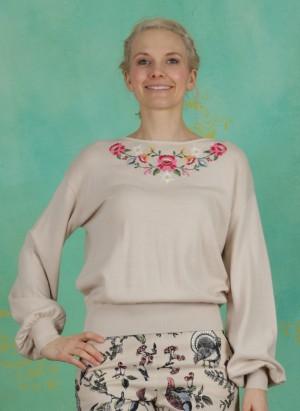 Pullover, Piroschka Garden Pulli, dove-love