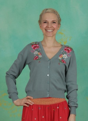 Cardigan, Piroschka Bouquet Cardy, alpine-love