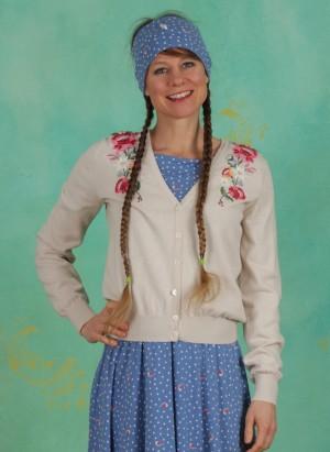 Cardigan, Piroschka Bouquet Cardy, dove-love