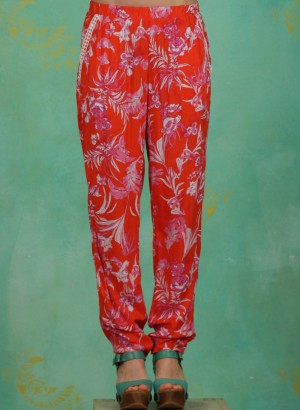 Hose, Going Easy Pants, tangerine-tropical