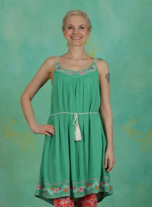 Kleid, Summer In The City Dress, smaragd-crepe
