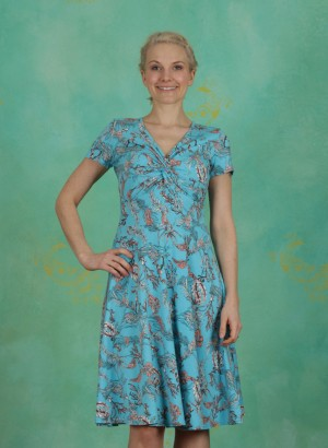 Kleid, Hot Knot Summer Robe, under-the-sea