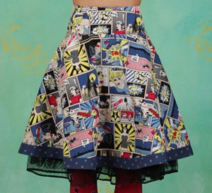 Rock, Superpower Skirt, super-comic