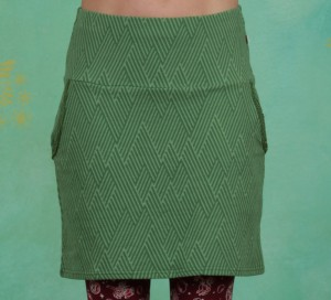 Rock, Tingle Tangle Skirt, smaragd-green