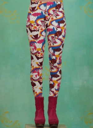 Leggins, Walking On Clouds Legs, somewhere-over-the-rainbow
