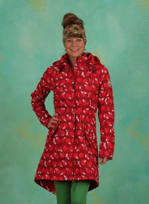 Mantel, Swallowtail Promenade Coat, eat-the-apple