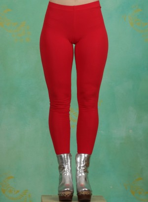 Leggins, Logo Leggings, back-to-red