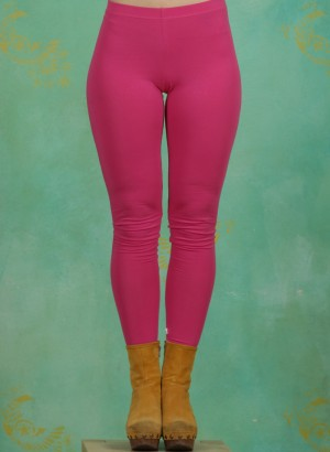 Leggins, Logo Leggings, back-to-pink